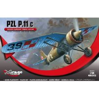 MIRAGE HOBBY 481002 PZL P-11C WITH BOMBS 1/48