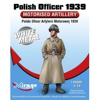 MIRAGE HOBBY 135001 POLISH OFFICER 1939 'MOTORISED ARTILLERY' 1/35
