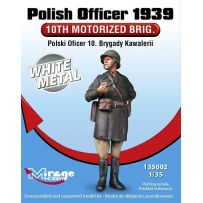 MIRAGE HOBBY 135002 POLISH OFFICER 1939 '10 TH MOTORISED BRIG.' 1/35