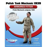 MIRAGE HOBBY 135003 POLISH TANK MECHANIC 1939 'ARMORED FITTER' 1/35