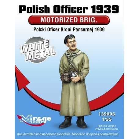 MIRAGE HOBBY 135005 POLISH OFFICER 1939 'MOTORISED BRIG.' 1/35