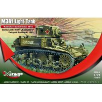 MIRAGE HOBBY 726074 M3A1 LIGHT TANK 'KUIBISHEV' SOVIET UNION 1942 1/72