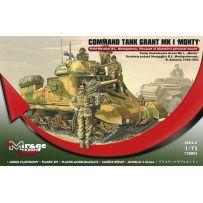 MIRAGE HOBBY 728005 COMMAND TANK GRANT MK.I 'MONTY' 1/72