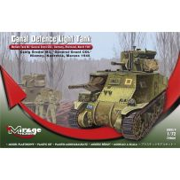 MIRAGE HOBBY 729001 MEDIUM TANK M3 'GENERAL GRANT' - 'CANAL DEFENCE LIGHT', LATE VERSION, GERMANY, RHEINLAND, MARCH 1945 1/72
