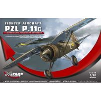 MIRAGE HOBBY 481009 PZL P.11C '112 FIGHTER SQUADRON, PURSUIT BRIGADE, SEPTEMBER 1939' 1/48
