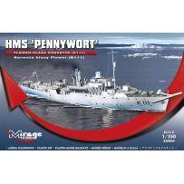 MIRAGE HOBBY 350804 HMS 'PENNYWORT' FLOWER-CLASS CORVETTE (K111) 1/350