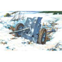 ICM 72251 3,7 CM PAK 36, WWII GERMAN ANTI-TANK GUN 1:72