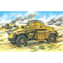 ICM 72411 SD.KFZ.222, GERMAN LIGHT ARMOURED VEHICLE 1:72