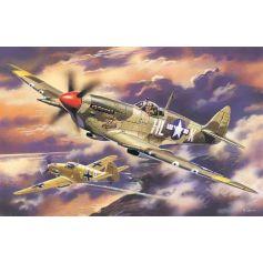 ICM 48065 SPITFIRE MK.VIII, WWII USAAF FIGHTER 1:48