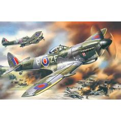 ICM 48071 SPITFIRE MK.XVI, WWII BRITISH FIGHTER 1:48
