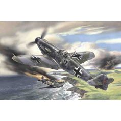 ICM 48102 MESSERSCHMITT BF 109F-2, WWII GERMAN FIGHTER 1:48