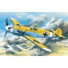 ICM 48105 MESSERSCHMITT BF 109F-4Z/TROP, WWII GERMAN FIGHTER 1:48