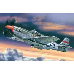 ICM 48121 MUSTANG P-51C, WWII AMERICAN FIGHTER 1:48
