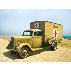 ICM 35402 TYP 2,5-32 WITH SHELTER, WWII GERMAN AMBULANCE TRUCK 1:35