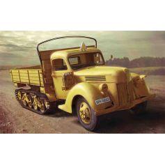 ICM 35412 V3000S/SS M (SD.KFZ.3B) MAULTIER, WWII GERMAN SEMI-TRACKED TRUCK 1:35