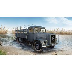 ICM 35451 KHD S3000, WWII GERMAN ARMY TRUCK 1:35