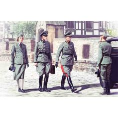 Personnel Allemand Wwii 1/35