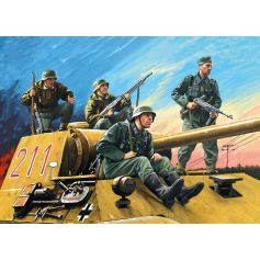 Cavaliers Allemands Protection Char 1/35