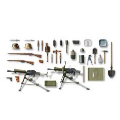 ICM 35671 WWI AUSTRO-HUNGARIAN INFANTRY WEAPON AND EQUIPMENT 1:35