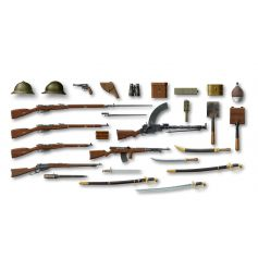 ICM 35672 WWI RUSSIAN INFANTRY WEAPON AND EQUIPMENT 1:35