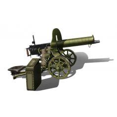ICM 35674 RUSSIAN MAXIM MACHINE GUN (1910) 1:35