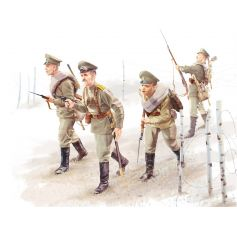 WWI Russian Infantry 4 figures 1/35
