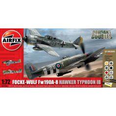 Focke Wulf Fw190a-8 And Hawker 1/72