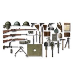 ICM 35686 WWI ITALIAN INFANTRY WEAPON AND EQUIPMENT 1:35