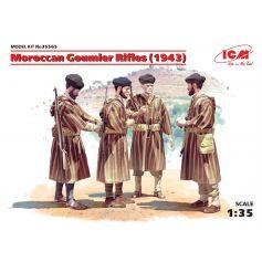 Moroccan Goumier Rifles 1943 4 figures 1/35