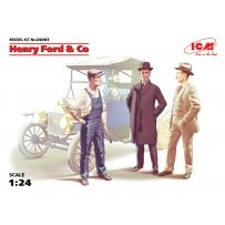 ICM 24003 HENRY FORD & CO (3 FIGURES) 1:24