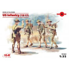 Infanterie Americaine 1917 1/35