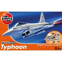AIRFIX J6002 QUICK BUILD EUROFIGHTER TYPHOON