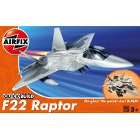 AIRFIX J6005 QUICK BUILD F22 RAPTOR