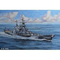 U.S.S. Missouri(WWII) 1/1200