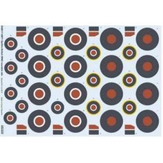 Spitfire British WWII Roundels Late 1/48