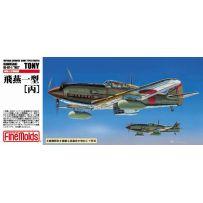 FINE MOLDS FP25 IJA KAWASAKI TYPE3 FIGHLER KI-61-1 HEI TONY 1/72