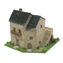 BLOCK CUIT 43512 RURAL HOUSE 2 HO SCALE