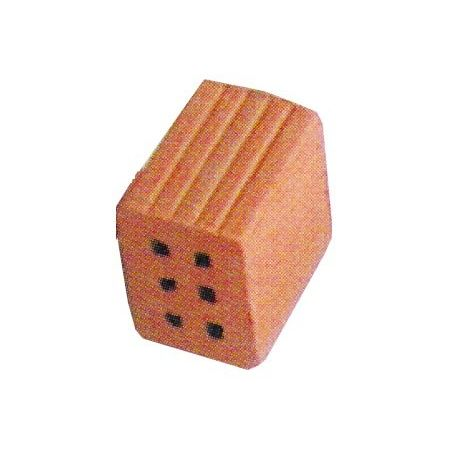 BLOCK CUIT 43907 25 X 2/3 OF BRICK 6 HOLES