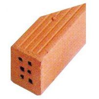 BLOCK CUIT 43909 12 X BRICK CUT IN ANGLE