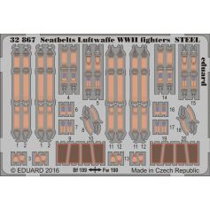 Seatbelts Luftwaffe Wwii Fighters Steel 1/32