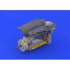 EDUARD 648250 BF 109G-6 ENGINE & FUSELAGE GUNS POUR EDUARD 1/48