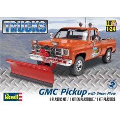 Gmc Pickup With Snow Plow 1/24