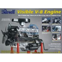 REVELL 18883 VISIBLE V-8