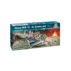 ITALERI 5619 VOSPER MTB74 RAID SAINT NAZAIRE 1/35