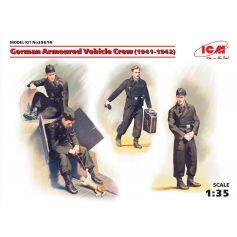 German Armoured Vehicle Crew 1/35