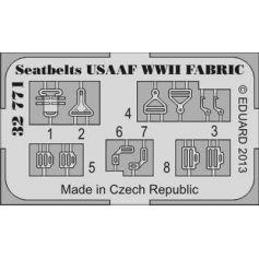 Seatbelts Usaaf Wwii Fabric 1/32