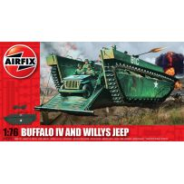 [HC] - BUFFALO IV AND WILLYS JEEP 1/76