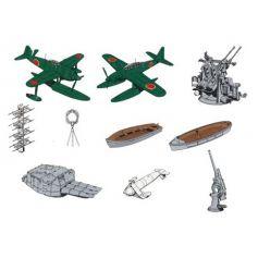 Accessoires Bateaux Legers 1/700