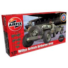 Willys Jeep Trailer & Howitzer 1/72