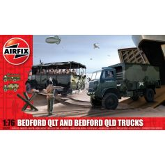Bedford Qlt And Bedford Qld Trucks 1/76